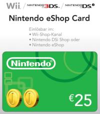 Nintendo eShop Card Online Kaufen